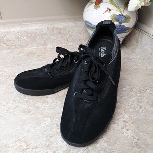 Keds Black Suede Sneakers Newer Condition